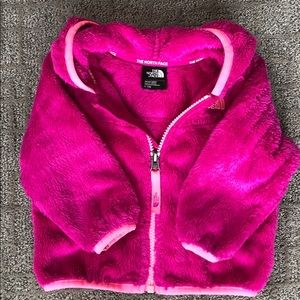 The North Face Oso Fleece Hoodie, Pink, Size 6-12M
